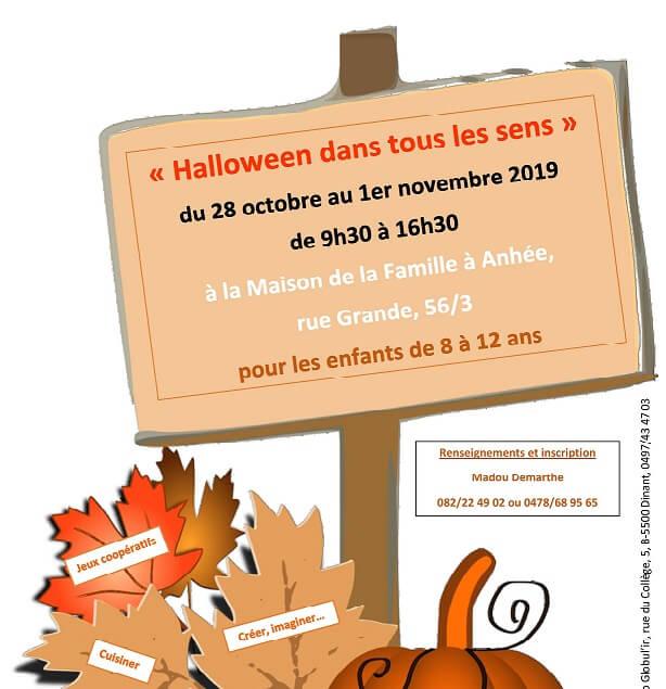 Du 28 octobre au 1er novembre 2019 : Halloween dans tous les sens