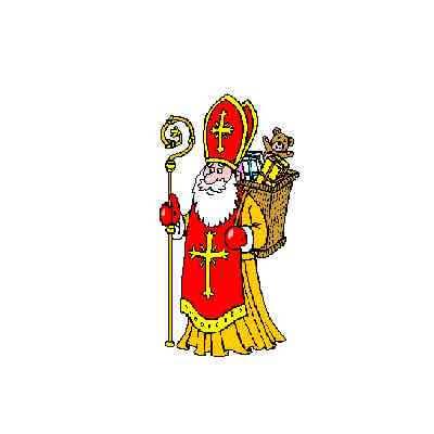 Saint-Nicolas à la Maison de la Famille, 12/2017