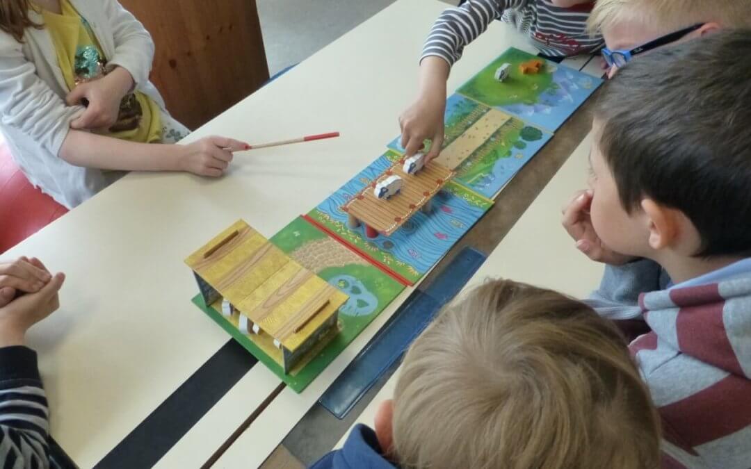 """Ateliers """"bien-être"""" dans des écoles primaires"""