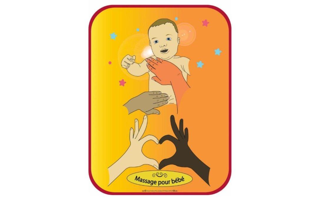 Les 7, 14 et 21 mai 2019 : apprentissage du massage pour bébé