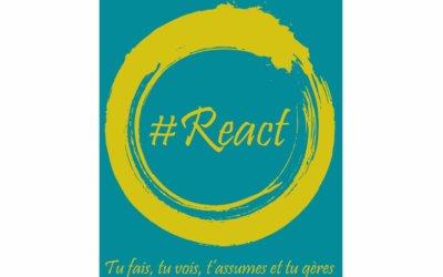 Début 2020 : animations # React dans les écoles