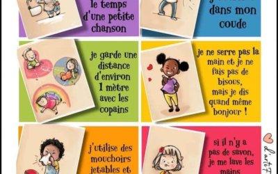 Covid-19 : Apprendre les gestes aux enfants