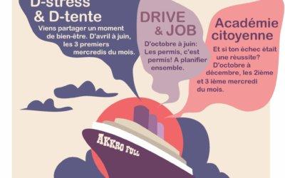 Les animations Akkro full du mercredi après-midi au Collège Notre-Dame – site Place Albert 1er – sont suspendues